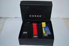 Vintage GUESS G60323 Three Fabric Straps for a Guess Quartz Watch Original