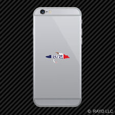 Iowa Fly Fishing Cell Phone Sticker Mobile IA fish lure tackle flies