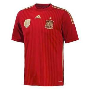 ADIDAS FIFA SPAIN HOME KIT 2014 JERSEY KIDS - BRAND NEW (A7)