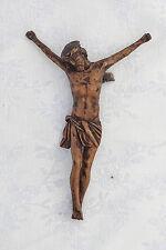 Antikes Kruzifix Holz Geschnitzt 18. Jh.