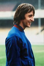 Johan Cruyff Holanda firmado foto de imagen 12x8 n Distribuidor UACC AFTAL