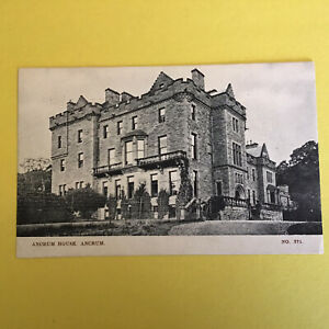 Ancrum House Unposted Postcard