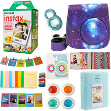 Fujifilm Instax Mini Instant 20 Film + Galaxy Camera Accessories Kit For Mini 9