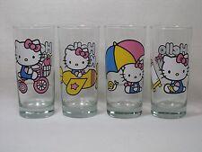 Hello Kitty 15 oz. Drink Glasses 1976, 2013 Sanrio Co. Hello Kitty Glasses