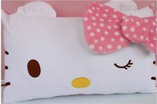 Hello Kitty Soft Pillowcase Bedroom Kid Children Bedding Pillow Cover Sheet Case
