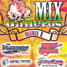 Mix Galleros: Vol. 1 by Various Artists (CD, Mar-2007,)NEW
