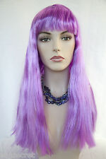 Cleopatra Style Long Straight Blonde Brunette Red Costume Fun Color Wigs