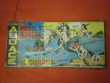PICCOLO RANGER 6°SERIE N°57 DEL 1966- STRISCIA -COLLANA AUDACE - araldo + segno