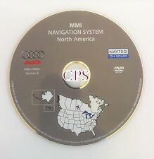 OEM 2006 AUDI A6 S6 RS6 NAVIGATION SYSTEM MMI MAP DISC CD DVD US CANADA