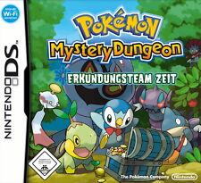 Pokémon Mystery Dungeon: Erkundungsteam Zeit KOMPLETT-FÜR NINTENDO DS, DSI, DSL