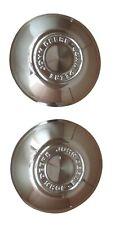John Deere Chrome HUB CAPS 6 INCH Front Wheel Covers OEM Rim ORIGINAL JD CAPS