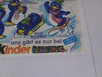 Fehldruck, Doppeldruck Beipackzettel Peppy Pingos von 1992 rar, Top Wert!