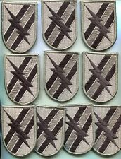 Dealer lot of 10 US Army 48TH INFANTRY BRIGADE ACU PATCHes W/Hook Back