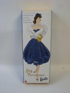 2002 Mattel Barbie Doll Gay Parisienne 57610 NRFB #H44