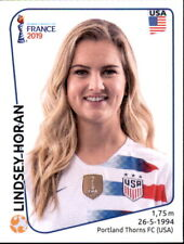 Panini Frauen WM 2019 Sticker 414 - Lindsey Horan - USA