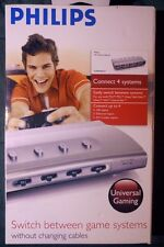 Philips HD System Selector Universal Gaming Connect 4 Systems NEW