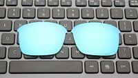 Replacement Ice Blue Polarized Lenses for-Oakley Thinlink Sunglasses OO9316 Lens