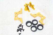 Team Durango DETC410 V2 Touring Car Parts - V2 aluminum bulkhead upper/lower