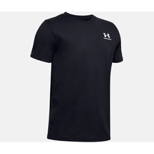 Under Armour Left Chest Short Sleeve Tee Junior - Black