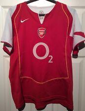 Arsenal 2004-05 Home Shirt Size - XL (Womens Fit)