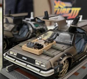 Vitesse 1/43 DeLorean DMC 12-Ritorno al futuro 3- Back To The Future Part 3 Rail