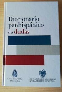 Diccionario panhispánico de dudas Tapa Dura Envío Gratis Perfecto Estado