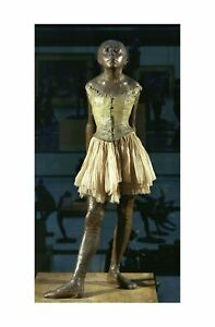 Edgar Degas - Little dancer aged fourteen c. 1880/81 61x91.5cm