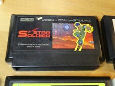 GAME/JEU FAMICOM NITENDO NES JAPANESE Cart Star Soldier 3 HFC SO JAPAN **