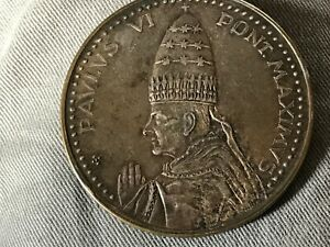 1975 Vatican City - Pope Paul VI Jubilee Year Commemorative Silver Medal