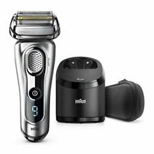 Braun Series9 9292cc Men's Electric Shaver with Clean/Charge Stand & Travel Case