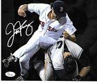 Joe Kelly Boston Red Sox Autographed Yankees Fight Photo pic 8x10 w-coa JSA-.