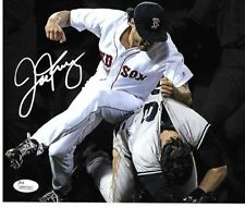Joe Kelly Boston Red Sox Autographed Yankees Fight Photo pic 8x10 w-coa JSA**