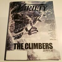 """VARIETY Magazine May 7, 2019. Cannes Film Festival. """"The Climbers"""" ad cover"""