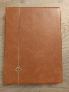 LEUCHTTURM Briefmarkenalbum A4 Einsteckalbum, 32 Seiten weiss ungeteilt, leer