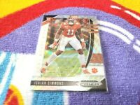 ISAIAH SIMMONS 2020 PRIZM Draft SILVER WAVE Refractor #154 ROOKIE RC #/299 SP
