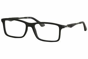 Ray Ban Men's Eyeglasses RB7023 RB/7023 2077 Matte Black RayBan Optical Frame