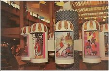 """""""Clock of the Nations"""" at Midtown Plaza Mall in Rochester NY Postcard"""