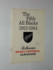 The Fifth All Blacks 1963-1964 Rothmans Rugby Football Almanack. Softback Book.