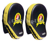 2PCS Target Thai Kick Boxing Mitt Focus Punch Pad Training Glove Karate Muay