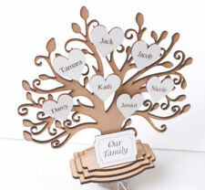 Art Deco Style Family Tree Decorative Indoor Signs/Plaques