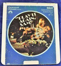 RCA VideoDisc CED - Play It Again, Sam, 1972, Woody Allen - Paramount