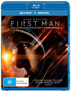 FIRST MAN (2018) [NEW BLURAY]