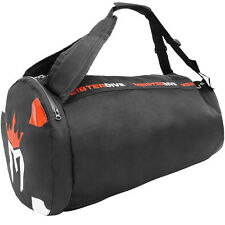 Meister Mesh Duffel Backpack Dive Bag w/ Dry Pocket - Scuba Snorkeling Surf
