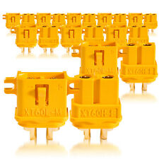 Hochstrom XT60L Stecker Buchse Goldkontaktstecker 10 Paar partCore 100244