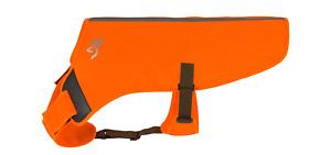 BROWNING Sporting Dog Safety Vest ORANGE Adjustable Hunting Fieldwork NEW