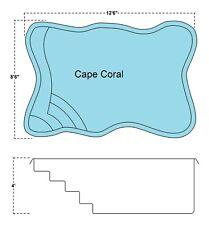 New listing Inground Fiberglass Swimming Pools 8X12X4 Flat Bottom $8,000