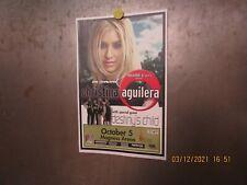 Christina Aguilera w/ Destiny'S Child Magness Arena Denver 2000 Show Poster Bey