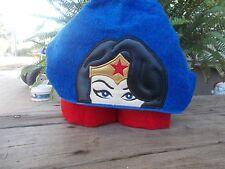 Custom Wonder Woman inspired Hooded Towel. Great for Bath or Beach! Superheros!