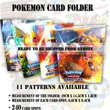 240 card spots Pokemon Cards Album Book Card Holder Collectors Folder