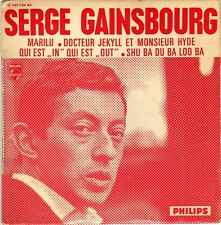"""GAINSBOURG QUI EST """"IN"""" QUI EST """"OUT"""" FRENCH ORIG EP 45 PS 7"""""""